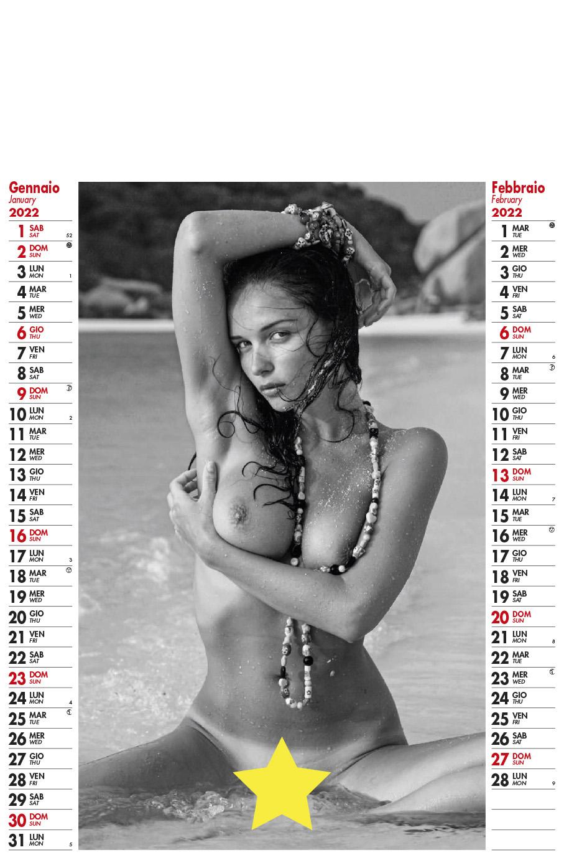 Calendario MockUp Donna Nuda