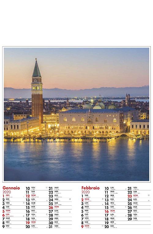 Calendario MockUp 2020 Città