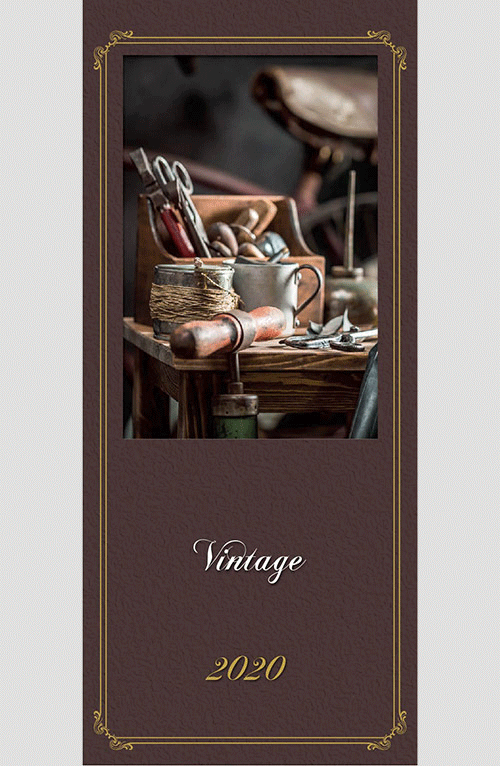 Copertina Vintage 2020