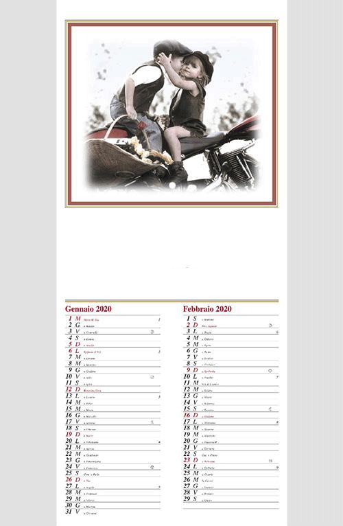 Calendario MockUp 2020 Bambini