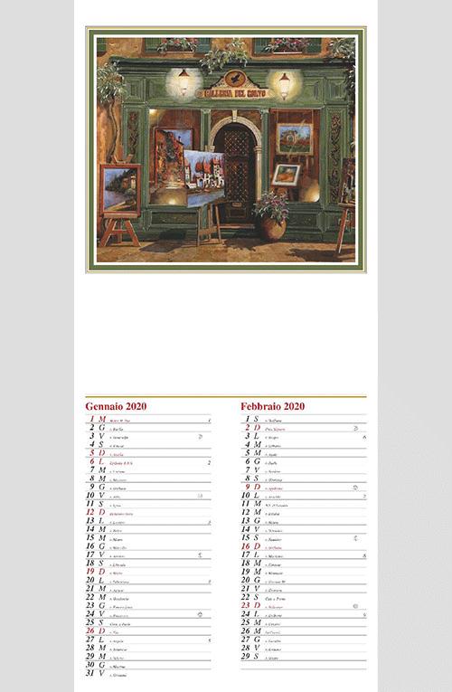 Calendario MockUp 2020