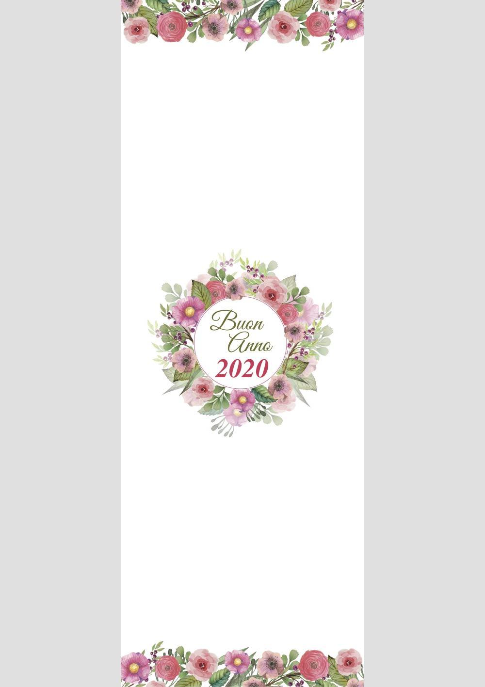 fantasia floreale per calendario 2020