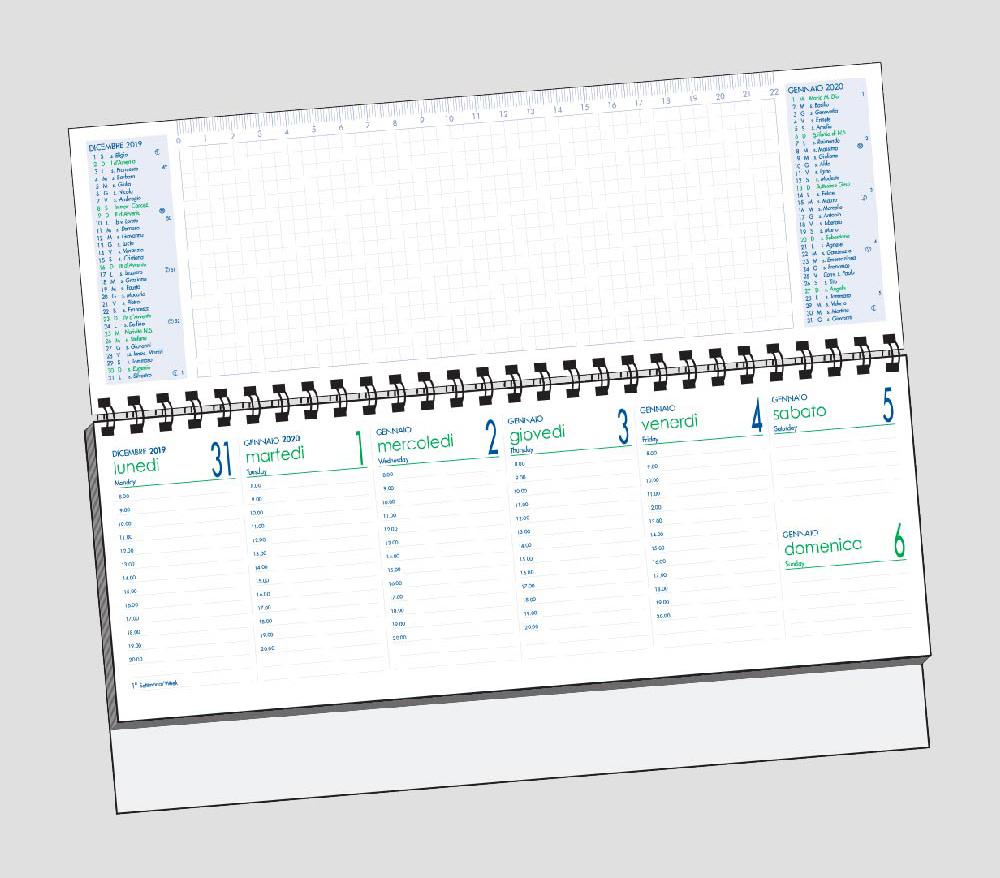 Calendario olandere