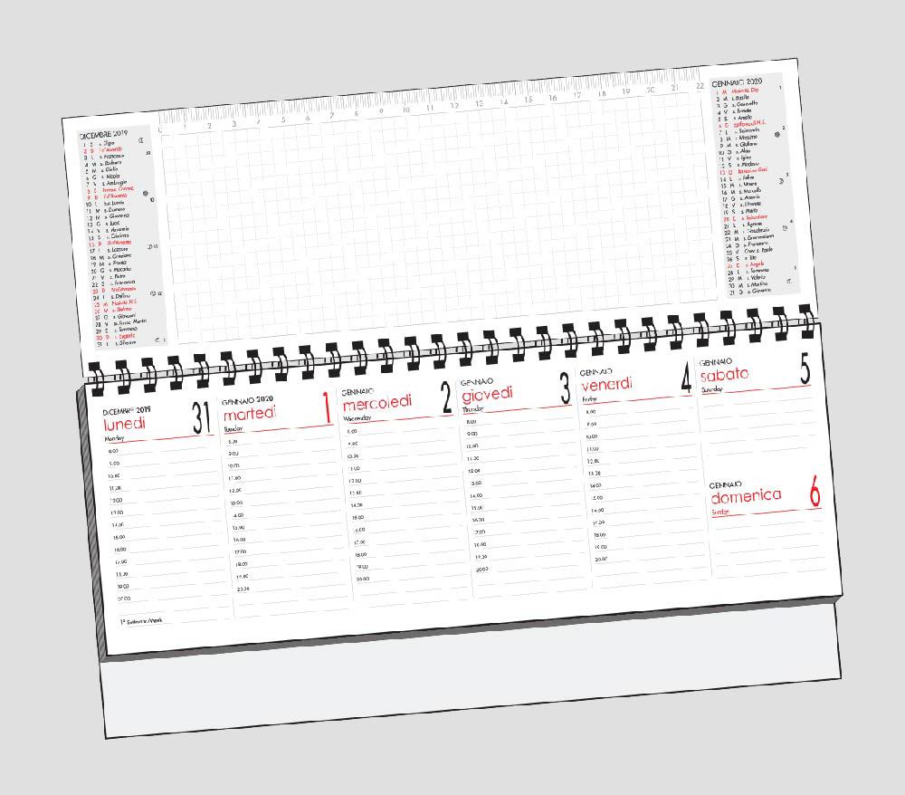 Calendario Olandese 7 Giorni