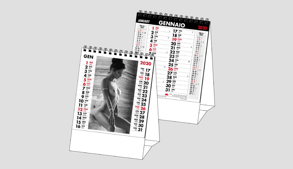 Calendario MockUp Da Tavolo 2020
