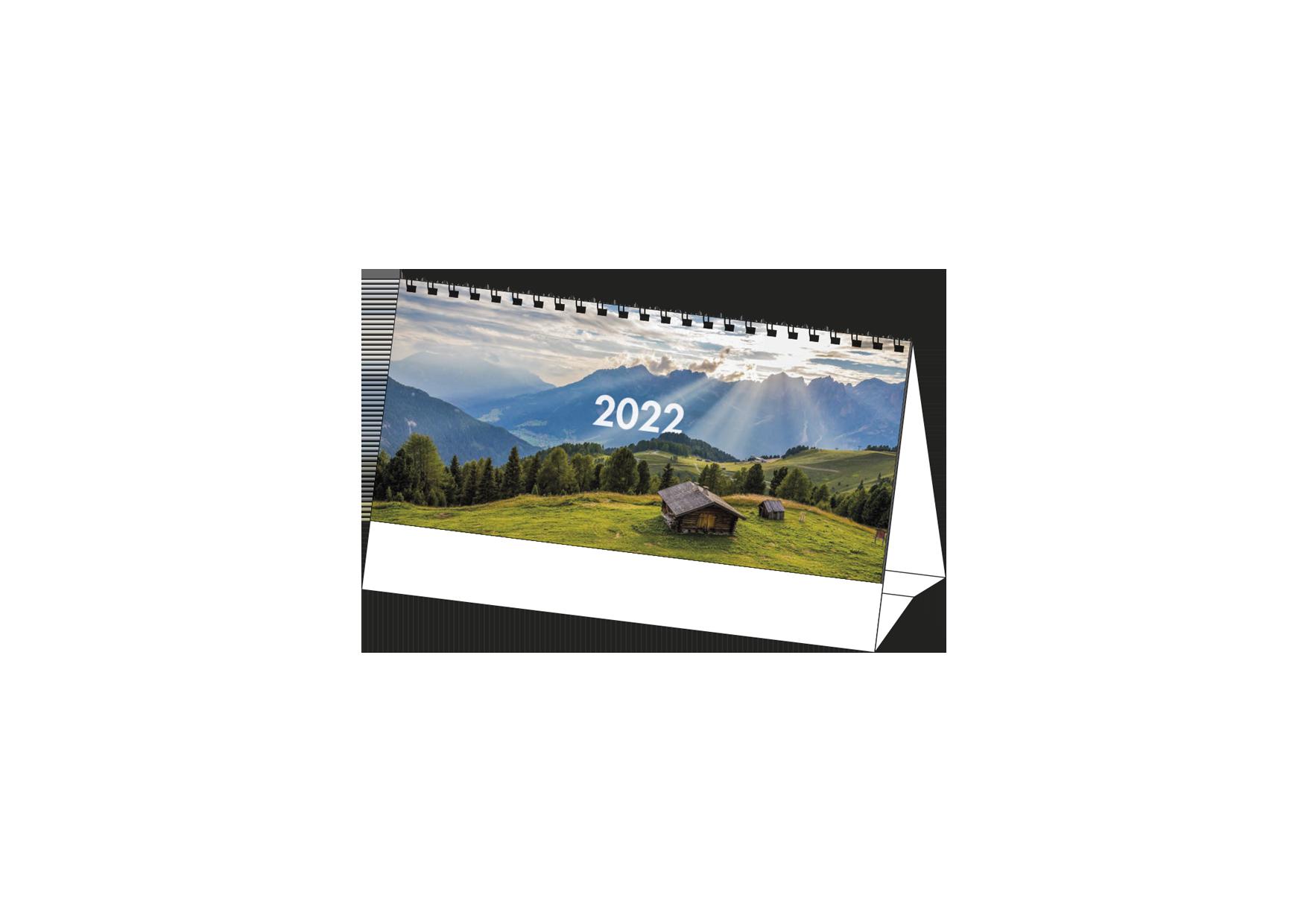 Calendario Da Tavolo MockUp