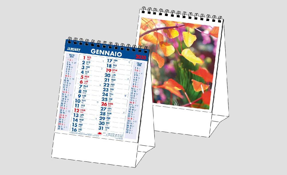 Calendario MockUp 2020 Piante