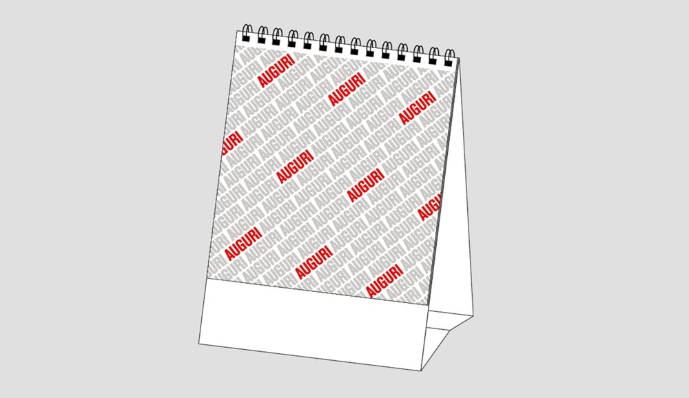 Calendario MockUp Auguri
