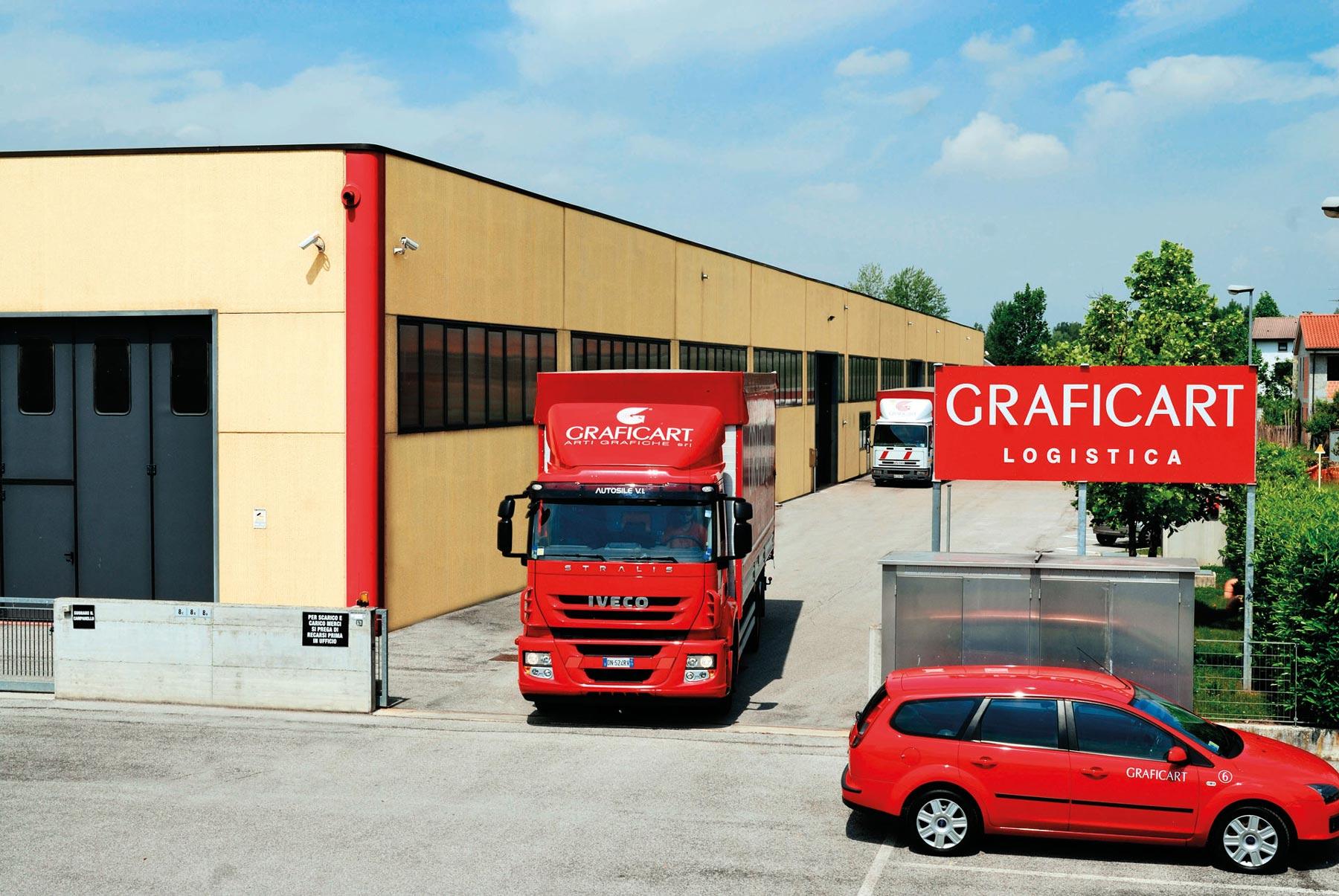 Graficart Logistica Azienda Esterno